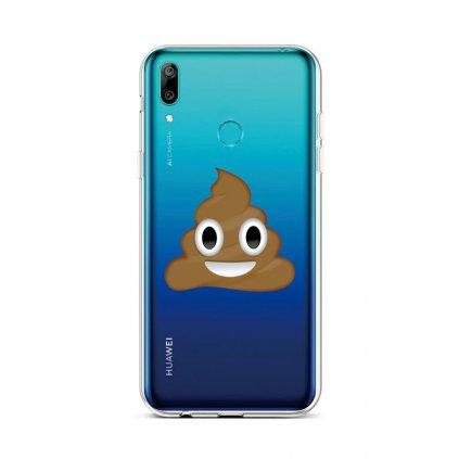 Zadný silikónový kryt na Huawei Y6 2019 Poo