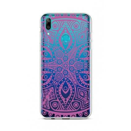 Zadný silikónový kryt na Huawei Y6 2019 Violet Mandala