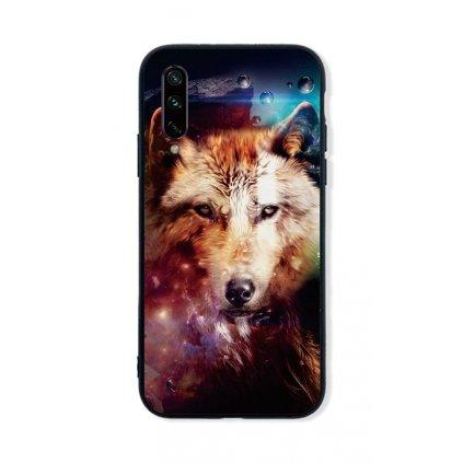 Zadný pevný kryt LUXURY na Xiaomi Mi A3 Wolf