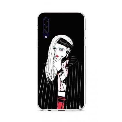 Zadný silikónový kryt na Samsung A30s Dark Girl
