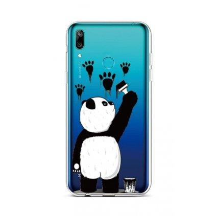 Zadný silikónový kryt na Huawei Y6 2019 Rebel Panda