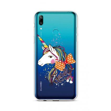 Zadný silikónový kryt na Huawei Y6 2019 Totally Uni-que