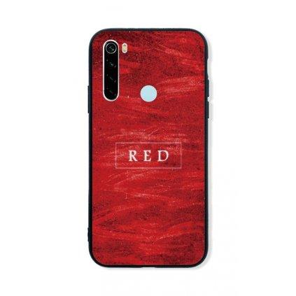Zadný pevný kryt LUXURY na Xiaomi Redmi Note 8 Red