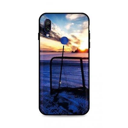Zadný silikónový kryt DARK na Xiaomi Redmi Note 7 Hockey Sunset