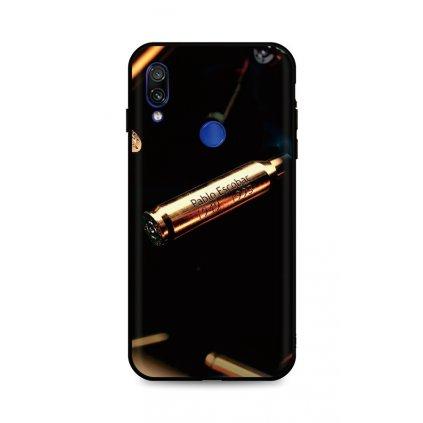 Zadný silikónový kryt DARK na Xiaomi Redmi Note 7 Pablo Escobar Bullet