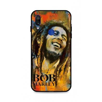 Zadný silikónový kryt DARK na Xiaomi Redmi Note 7 Bob Marley