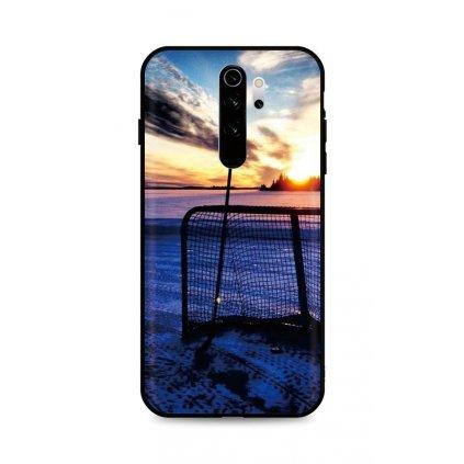 Zadný silikónový kryt DARK na Xiaomi Redmi Note 8 Pro Hockey Sunset