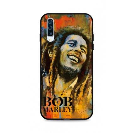 Zadný silikónový kryt DARK na Samsung A50 Bob Marley