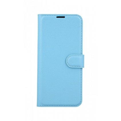 Flipové puzdro na Samsung A30S modré s prackou