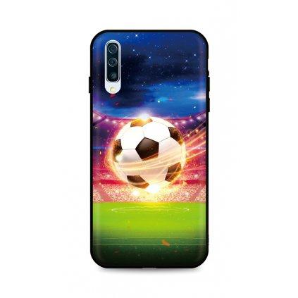 Zadný silikónový kryt DARK na Samsung A50 Football Dream