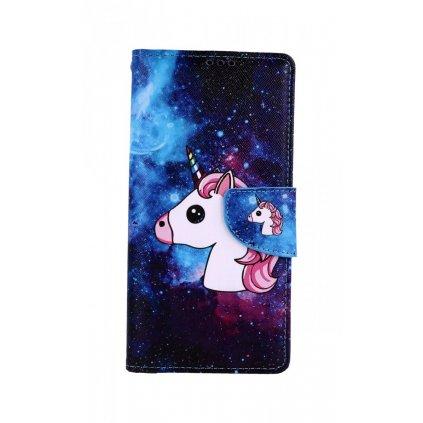 Flipové puzdro na Xiaomi Redmi Note 8 Pro Space Unicorn