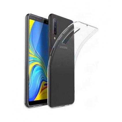 Ultratenký silikónový kryt na Samsung A7 2018 0,5 mm priehľadný