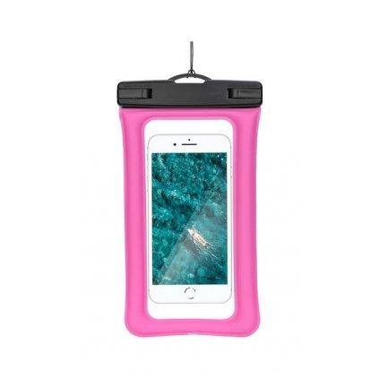 Vodotesné puzdro na mobil ETUI AIRBAG ružové