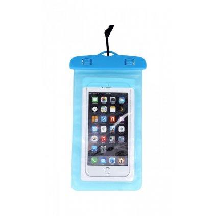 Univerzálne vodotesné puzdro na mobil modré