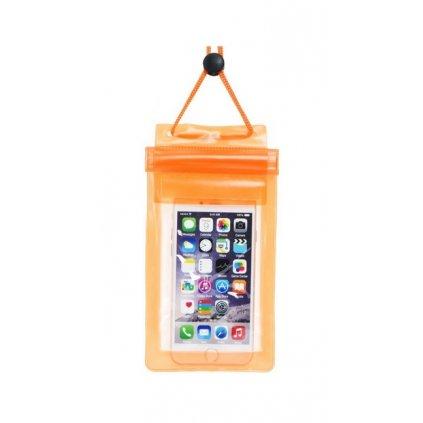 Univerzálne vodotesné puzdro ETUI Soft na mobil oranžové