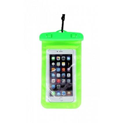 Univerzálne vodotesné puzdro na mobil zelené