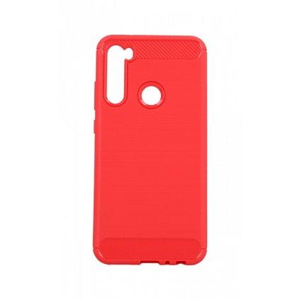 Zadný silikónový kryt na Xiaomi Redmi Note 8 červený