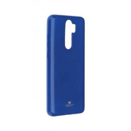 Zadný silikónový kryt Mercury Jelly Case na Xiaomi Redmi Note 8 Pro modrý