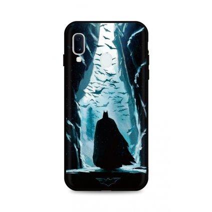 Zadný silikónový kryt DARK na Samsung A20e Dark Batman