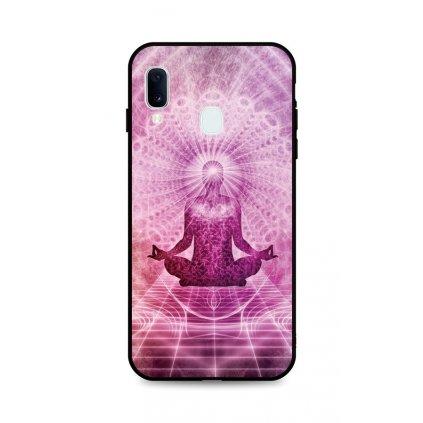 Zadný silikónový kryt DARK na Samsung A20e Energy Spiritual