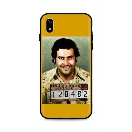Zadný silikónový kryt DARK na Xiaomi Redmi 7A Pablo Escobar
