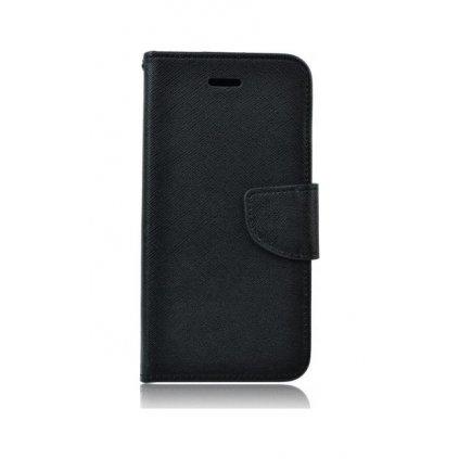 Flipové púzdro na iPhone 6 / 6s čierne