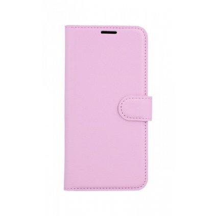 Flipové puzdro na Xiaomi Redmi Note 8T svetlo ružové s prackou