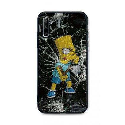 Zadný pevný kryt LUXURY na Huawei P Smart Pro Bart Simpson