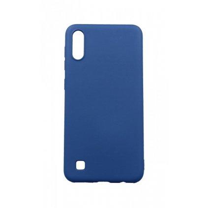 Zadný silikónový kryt Forcell Lite na Samsung A10 modrý