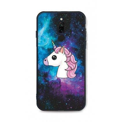Zadný pevný kryt LUXURY na Xiaomi Redmi 8 Space Unicorn