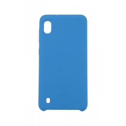 Zadný silikónový kryt Forcell Gummy na Samsung A10 modrý