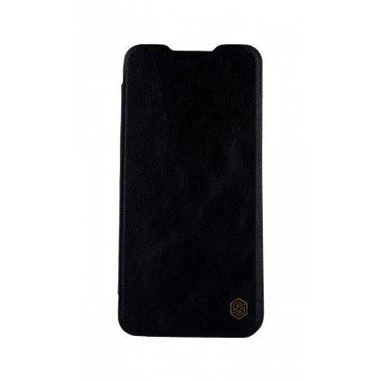 Knížkové puzdro Nillkin Qin na Xiaomi Mi 9 Lite kožené čierne