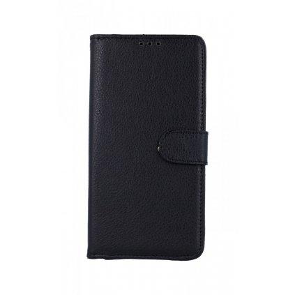 Obal kryt na mobil Huawei Y6s čierné s prackou knižka 1