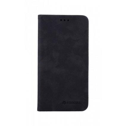 Flipové puzdro Forcell Silk Book na iPhone 11 čierne