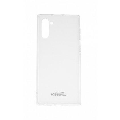 Zadný silikónový kryt KISSWILL na Samsung Note 10 svetlý
