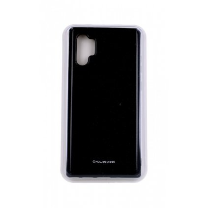 Zadný silikónový kryt Molan Cano Jelly na Samsung Note 10+ čierny