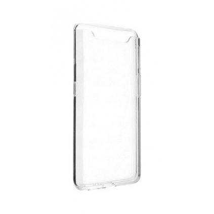 Ultratenký silikónový kryt na Samsung A80 0,5 mm priehľadný
