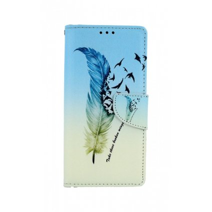 Flipové puzdro na Huawei P Smart Pro Pírko
