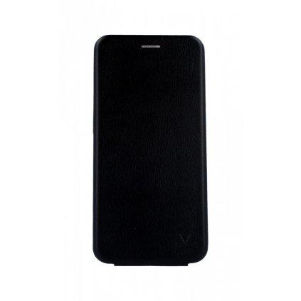 Flipové puzdro Vennus Kabura Elegance na Samsung A80 čierne