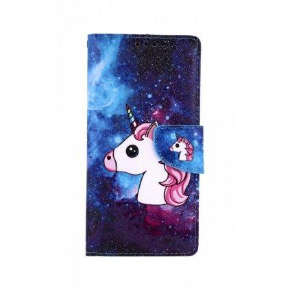 Flipové puzdro na Huawei P Smart Pro Space Unicorn