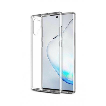 Ultratenký silikónový kryt na Samsung Note 10+ 0,5 mm priehľadný
