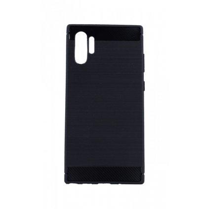 Zadný silikónový kryt na Samsung Note 10+ čierny