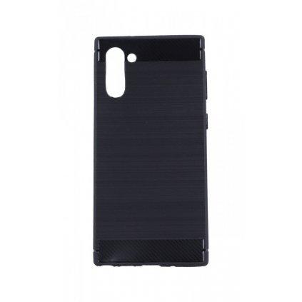 Zadný silikónový kryt na Samsung Note 10 čierny
