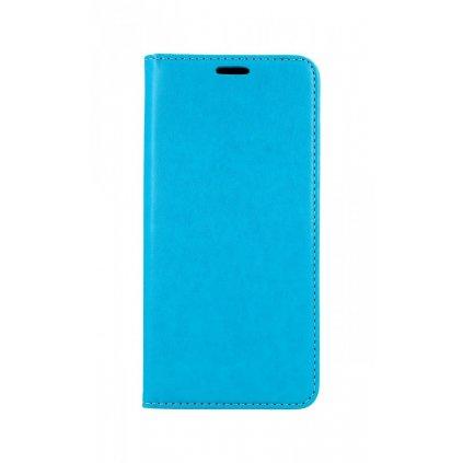 Flipové puzdro Magnet Book na Samsung A51 tyrkysový