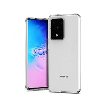Ultratenký silikónový kryt na Samsung S20 Ultra 5G 0,5 mm priehľadný