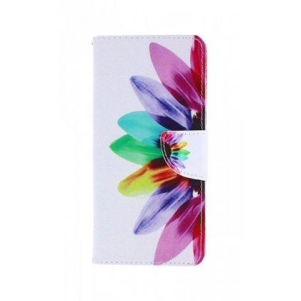 Flipové púzdro na Samsung A51 Farebná kvetina