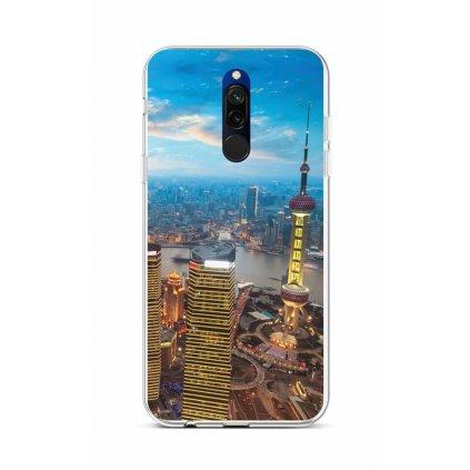 Zadný silikónový kryt na Xiaomi Redmi 8 City