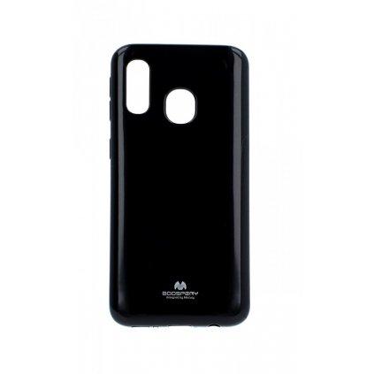 Zadný kryt Mercury Jelly Case na Samsung A40 čierny