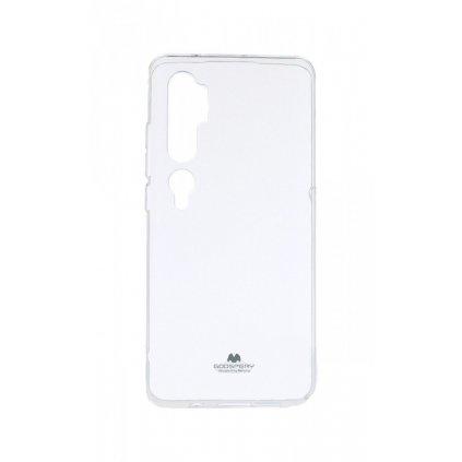 Zadný silikónový kryt Mercury Jelly Case na Xiaomi Mi Note 10 priehľadný