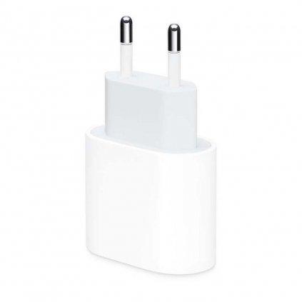Originálne cestovný adaptér iPhone MU7V2ZM / A USB-C (Type-C) biely